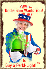 Uncle Sam Wants You to Balance Your Energy