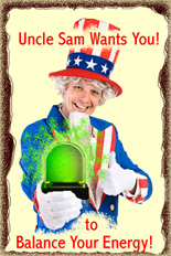 Uncle Sam Wants You to Buy a Perkl-Light